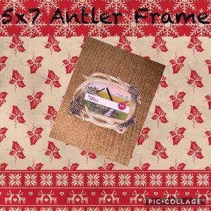 5x7 Antler Frame